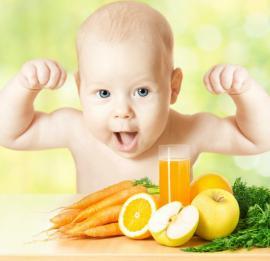 Apelsinų sultys kūdikiams