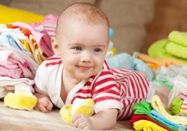 Kaip rengti kūdikį namuose