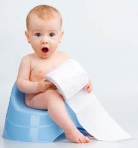 Vaikas bijo puoduko