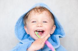Vaiko dantų priežiūra