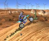 Žaidimas su motociklu