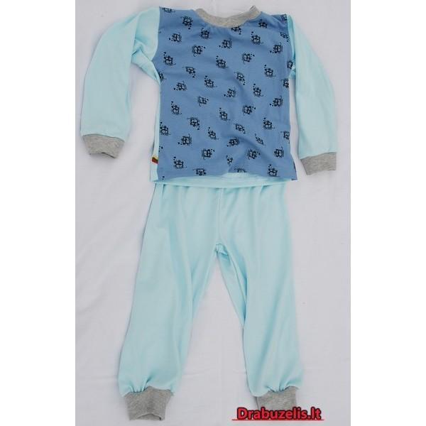"""Vaikiška pižama """"mėlynas peliukas"""""""