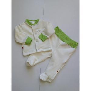 Komplektukas kūdikiui su žalsvom detalėm