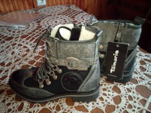 Nauji žieminiai batai mergaitei 36d.