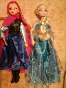 Frozen sesutės