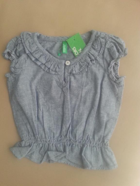 Puošnūs benetton marškinėliai
