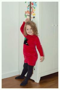 Suknelė su kišenėmis ežys
