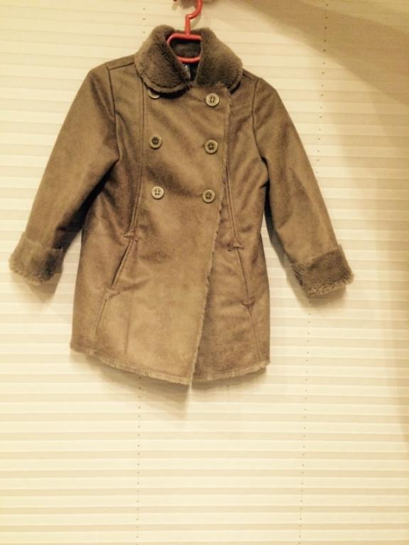 Verstos odos paltukas 3-4 metų mergaitei