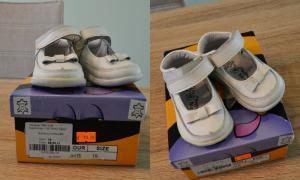 Dailūs odiniai bateliai mažosioms princesėms :)
