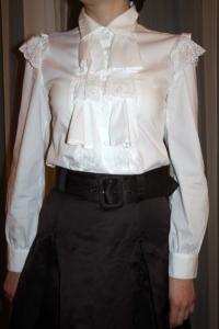 Puošnūs marškiniai mergaitei