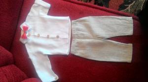 Lininis kostiumas berniukui