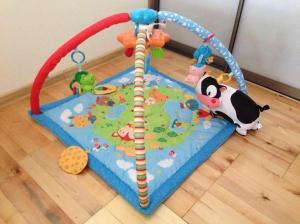 Lavinamasis kilimėlis su muzikėlėmis