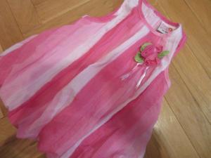Vasarinė suknelė mergaitei.