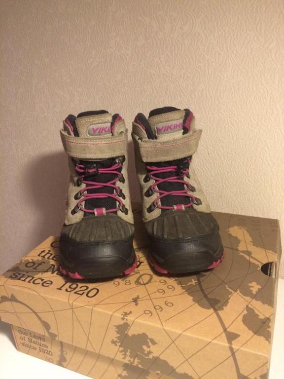 Žieminiai vikings batai.