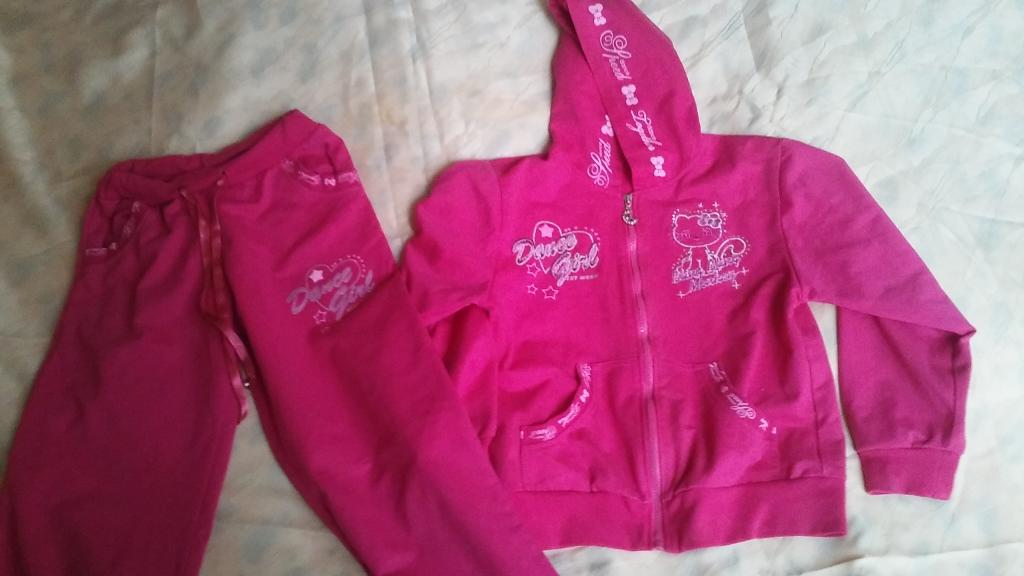 Sportinė apranga mergaitei rožinė
