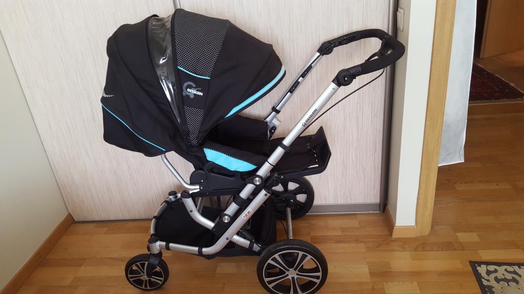 Gesslein f6 air+ universalus vaikiškas vežimas