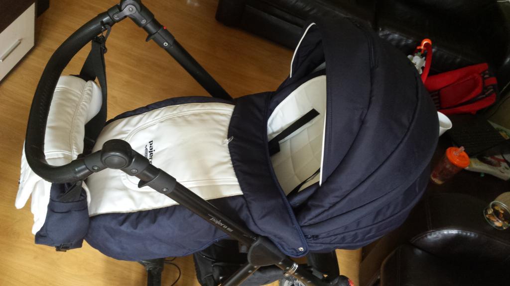 Adamex pajero 3in1 vežimėlis