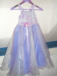 Proginė, puošni suknelė 6-8 metų mergaitei.
