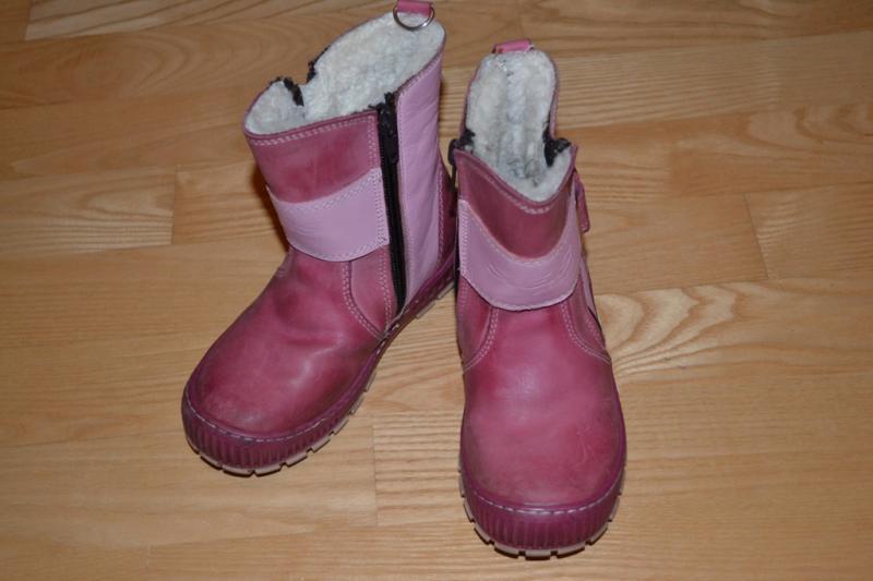Šilti žieminiai batukai mergaitei
