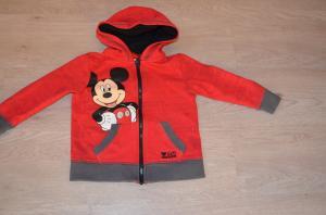 Disney mikio džemperis su užtrauktuku berniukui/mergaitei