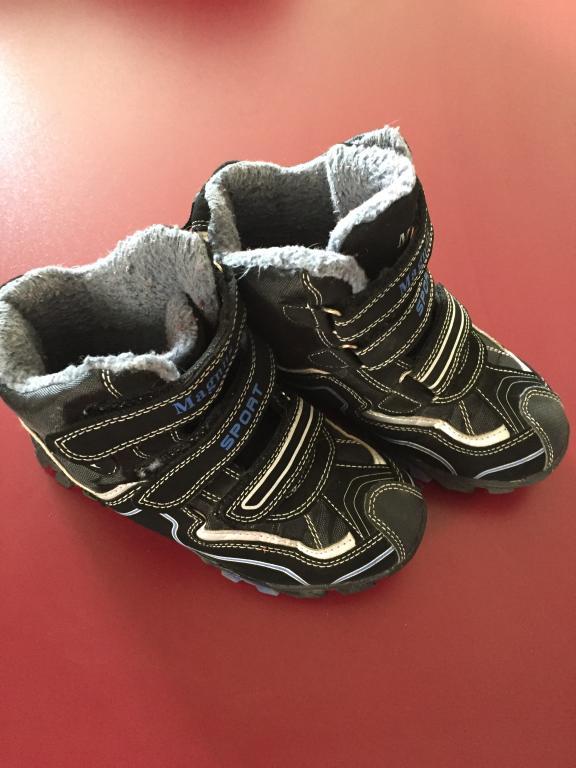 Žieminiai batai berniukui