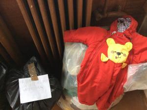 Yvairaus amziaus drabuziai vaikams, maziuku daugiausiai