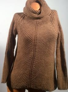 Rudas šiltas zara megztinis mergaitėms