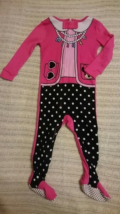 Nauji disney baby roziniai sliauztiniai mergaitei, 12 men