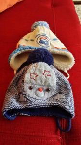 Ddvi žieminės kepurės berniukui