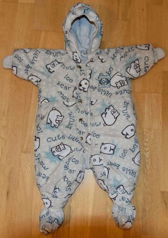 Šiltas kombinezonas kūdikiui h&m, 62