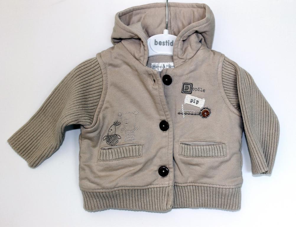 Šiltas džemperis kūdikiui nuo gimimo