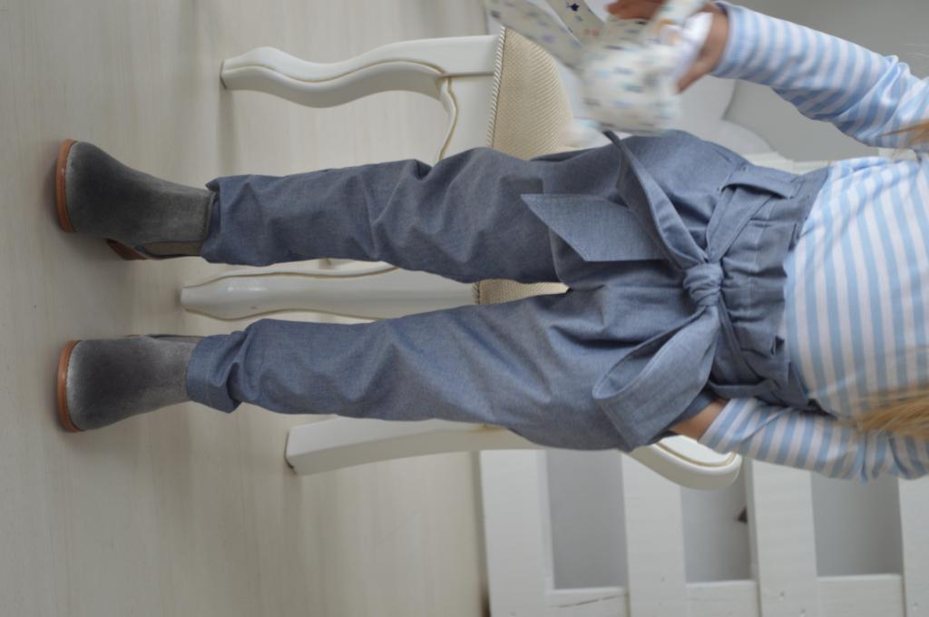 Kelnytės džinsinis balionėlis