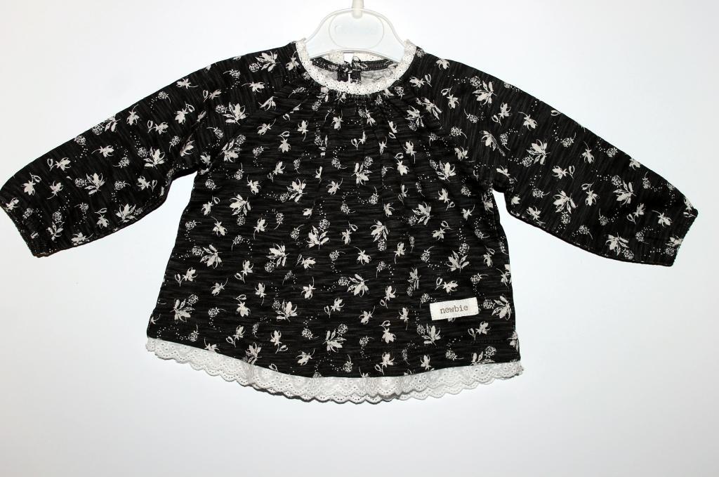 Aukštos kokybės bio medvilnės  suknelė 0-3 mėn. mergaitei