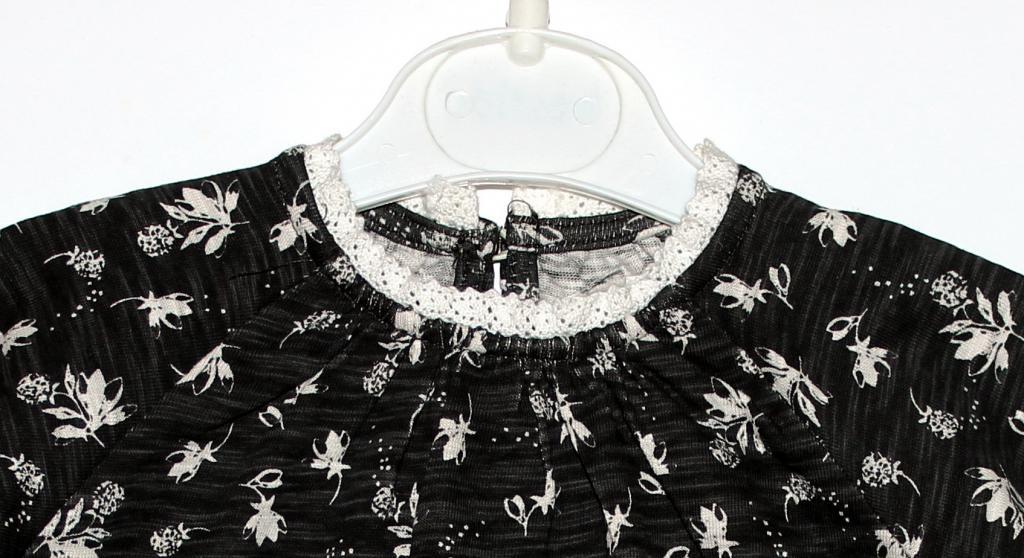 Aukštos kokybės suknelė 0-3 mėn. mergaitei