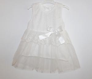 Balta krikšto suknelė mergaitei