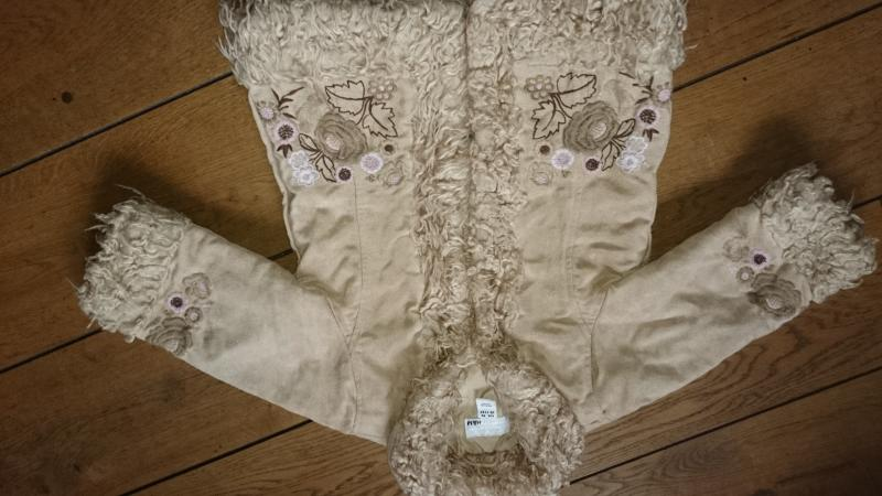 Pavasarinis h&m paltukas smelio spalvytes 1-1.5m 86cm