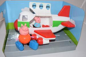 Peppa pig lėktuvas