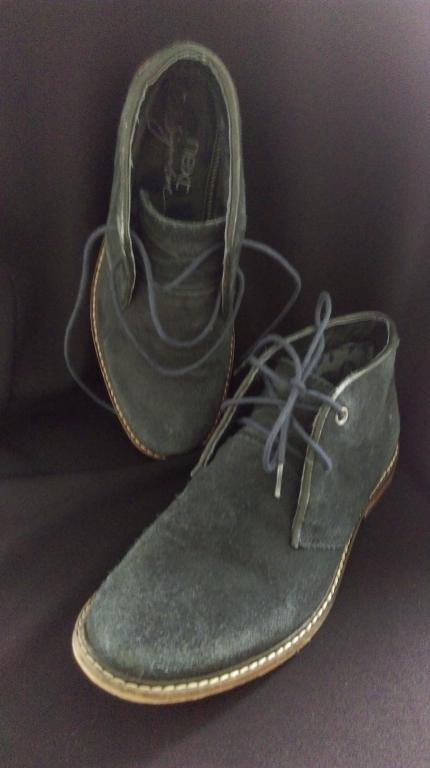 Veliuriniai tamsiai melyni klasikiniai batai