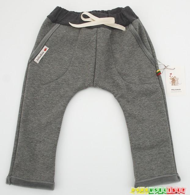 Šiltos ir gražios haremo kelnės vaikams, 123