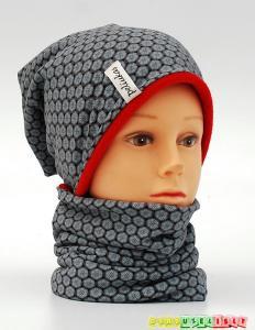 """Šilta kepurė vaikui su mova """"snaigės"""", 788"""