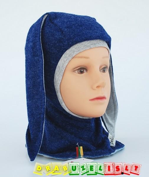 """Kepurė - šalmukas """"mėlynas kiškis"""", 765"""