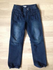 Nauji pašiltinti vertbaudet džincai 120 cm