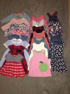 Parduodu kokybiskus 1 mergaites devetus drabuzius