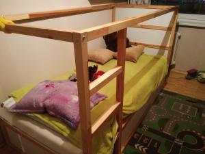 Aukštos lovos rėmas, medena