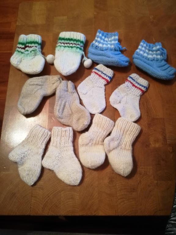 Vilnonės kojinytės kūdikiui