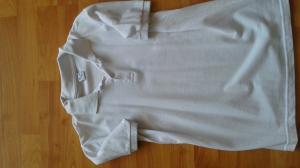 Balti polo marškinėliai