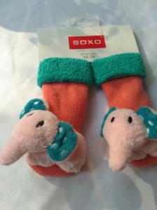 Naujos kojinės su žaisliuku
