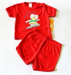 Vasariškas kostiumėlis: šortukai ir marškinėliai berniukui
