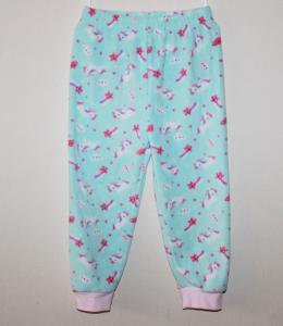 Šiltos pižaminės kelnės mergaitei