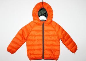 Oranžinė dygsniuota striukė pavasariui-rudeniui